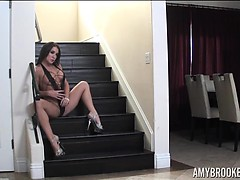 Chi Towns Amy Brooke on Stairs