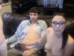 Hot Threesome On Webcam