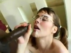 Nerdy Mom Anal Fucked And Cummed On By A BBC