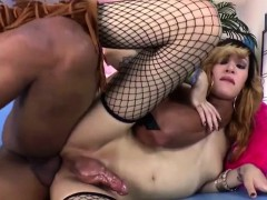 Shemale Ryder Monroe Gets Her Ass Drilled Deep