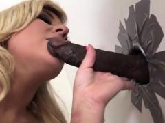 Heidi Hollywood Rides A Faceless Black Cock