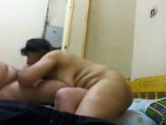 My BBW mom and her lover on spy camera
