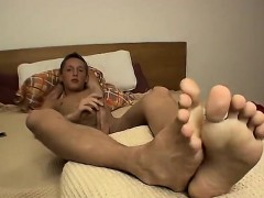 Biggest cock in boy Jerking Off With Shaved Uncut Veso
