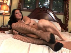 Big Tits Kiara Mia Sucks Cock and Fucking
