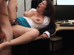 Remote vibrator in public first time MILF sells her husband'