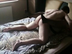 Horny BBW cheating on her husband with a stud