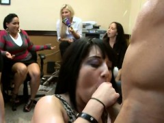 These girlfriends love to put pecker in their mouths.
