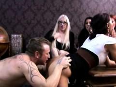 Brunette Addison Sucks A Cock