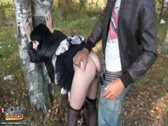 Unbelievably hot and steamy public sex vid