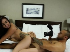 Mandy is a cute giggly waitress willing to do anything to