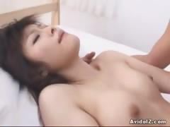 Haruna Ayase hot small tits action right here