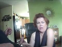 Amateur Redhead Gf Sucking A Big Dick