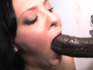 Ivy Winters Sucks Anonymous Fat Black Cock