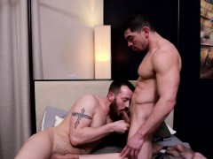 Mark Long And Jeremy Spreadums Fucking Hard In Hotel Room