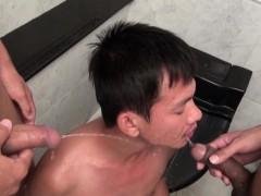 Pissing Gay Asians Fuck