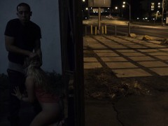 Lost Teen Picked Up And Fucked In Alley