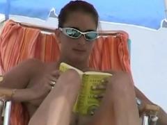 Candid Playful Beach Teen Tit And Ass Voyeur Voyeur Video