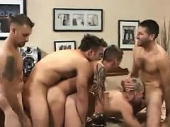 Young Guys Fucking Raw At A Party