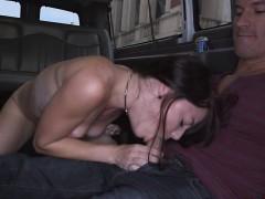 Luscious hot chick Kaisey Dean fucks a huge dick