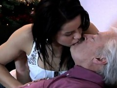Bruce a dirty old stud loves to plow youthful girls like Pet
