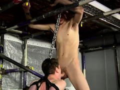 Gay guys Punishing The Sexy New Boy