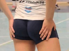 Sexy Athletes With Great Ass In Shorts