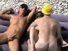 Couples Having Sex At A Beach Compilation