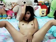 Slutty Asian Chick Web Cam Show Just For Me
