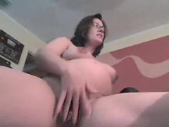 Pregnant Woman With Glasses Strips