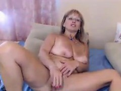 Horny Mature Whore Loves Masturbating