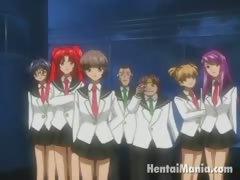 fiery redhead hentai girl