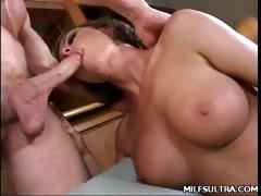 Sexy MILF Saskia Rides Cock