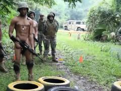 Free military gay fuck Jungle bang fest