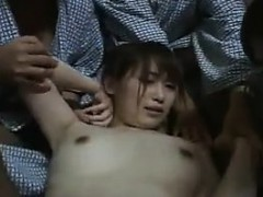 Hot Group Sex With A Hairy Pussy Girl