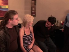 Sexy Camryn Cross fucks a guy while her cuckolded husband