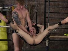 Kamyk Walker has fun with his twink slave Tyler Underwood