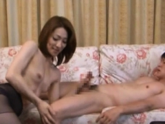 Gorgeous mature babe gets her juicy cum-hole fucked roughly