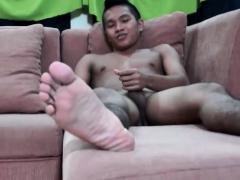 Asian Boy Niko Jacking Off