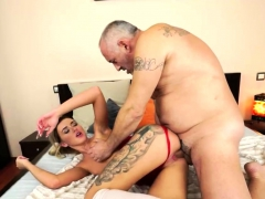 Grand daddy Fucks a Stunning Babe