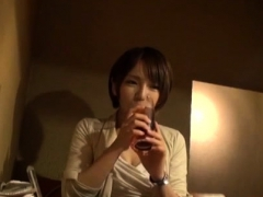 Pov Of Japanese Beauty Playing With Huge Cock