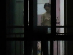 Window Voyeur Chinese Neighbor Tits