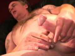 Mature Amateur Gerald Beating Off
