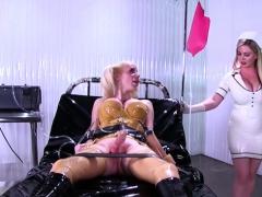 Hot Shemale Latex Fetish And Cumshot