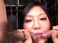 Maki Takei Sucks Cock Dry - More At Slurpjp.com