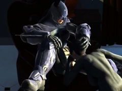 Big Dick Batman Fucks Hot Ass Catwoman