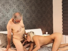 Moaning daddy and old young threesome Surprise your gf and s