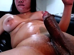 Webcam Ladyboys Masturbate Their Cocks