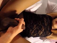 Teen Ladyboy Fay Sucks Dick And Gets Ass Fucked