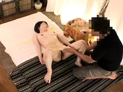 Japanese GF hairy pussy fingering
