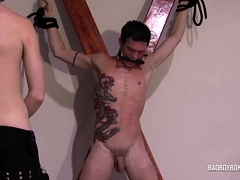 Tattooed Sub Tied Up And Tortured By Smoking Dom